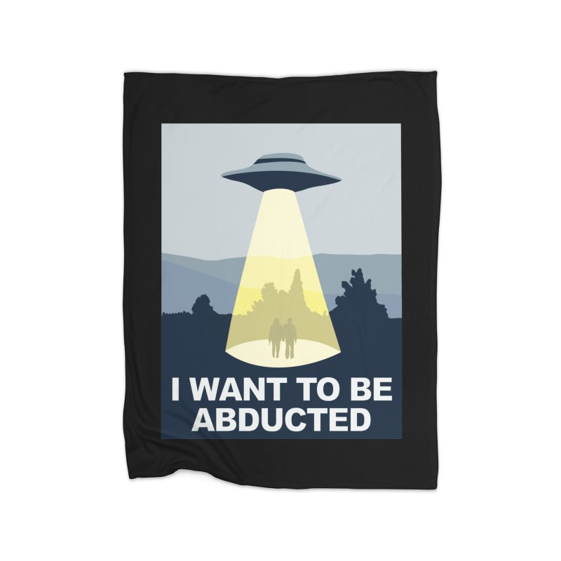 Abducted Home Blanket by Daletheskater