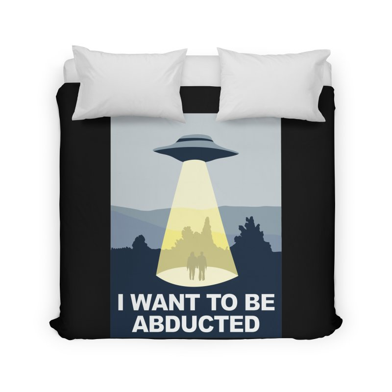 Abducted Home Duvet by Daletheskater
