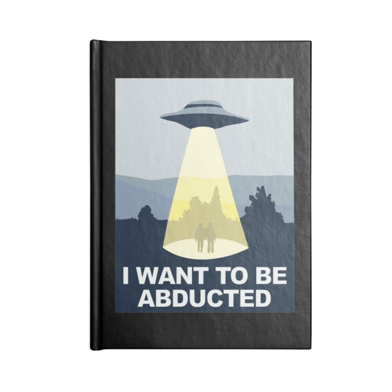 Abducted Accessories Notebook by Daletheskater