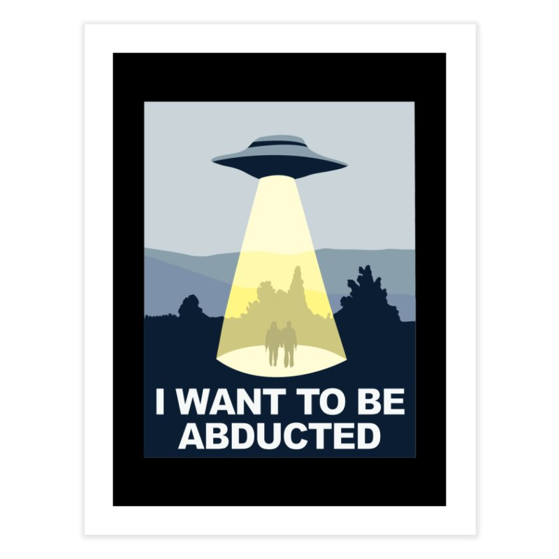 Abducted Home Fine Art Print by Daletheskater