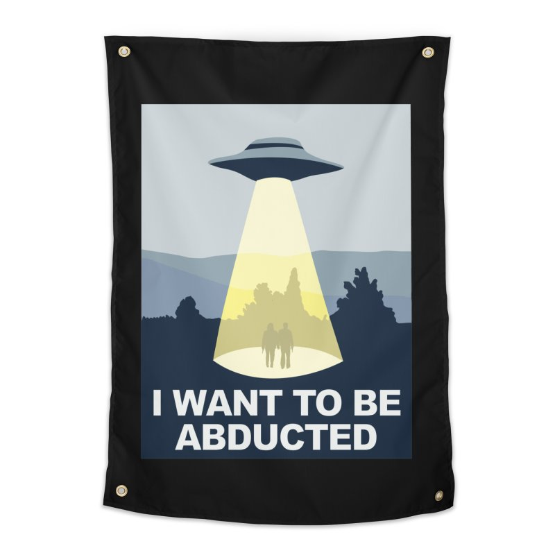 Abducted Home Tapestry by Daletheskater