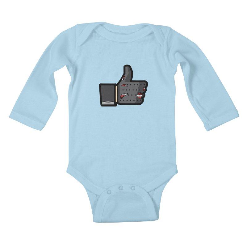 Terminated Kids Baby Longsleeve Bodysuit by Daletheskater