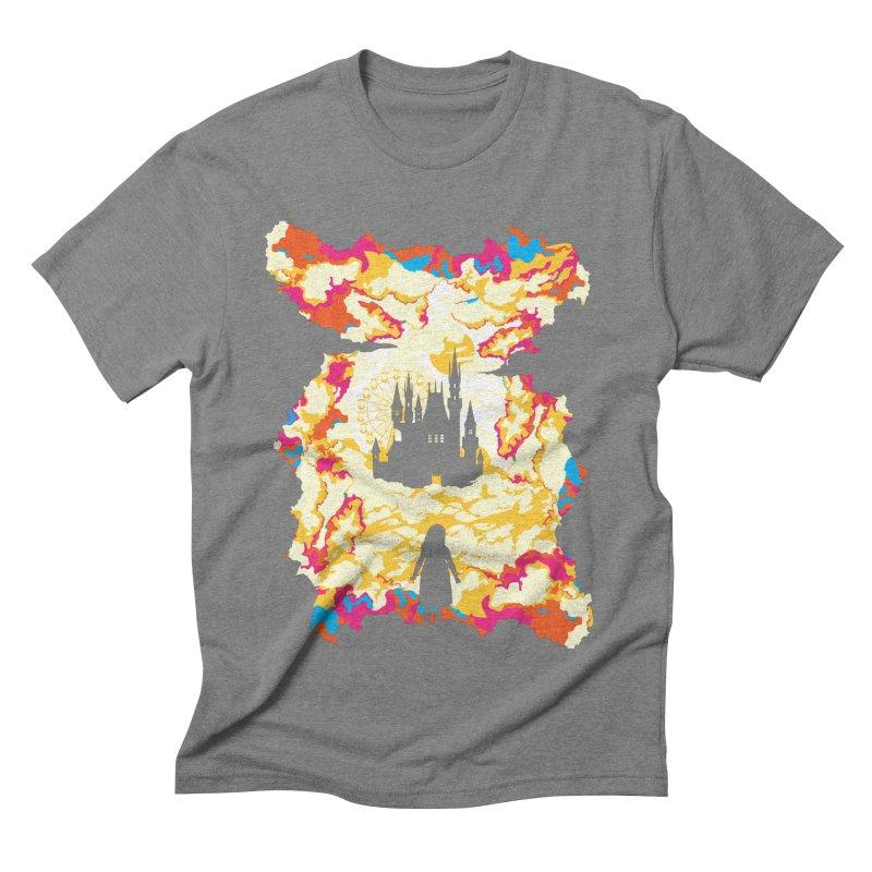 Cloud City Men's Triblend T-Shirt by Daletheskater