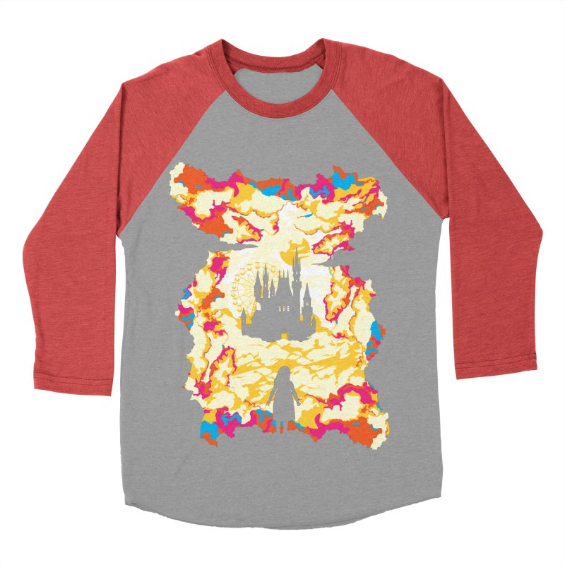 Cloud City Women's Baseball Triblend T-Shirt by Daletheskater