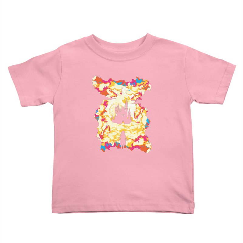 Cloud City Kids Toddler T-Shirt by Daletheskater