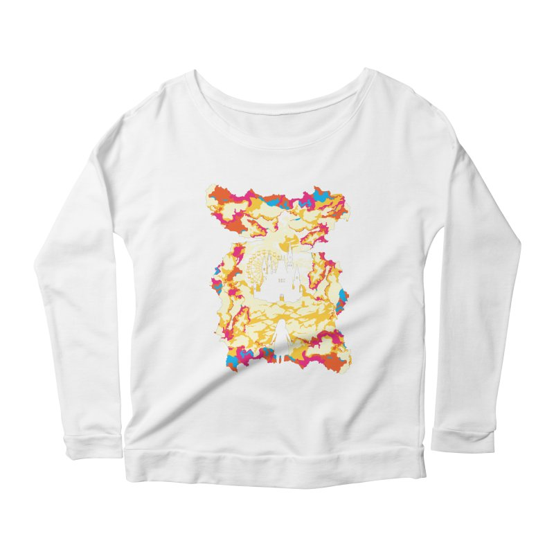 Cloud City Women's Longsleeve Scoopneck  by Daletheskater