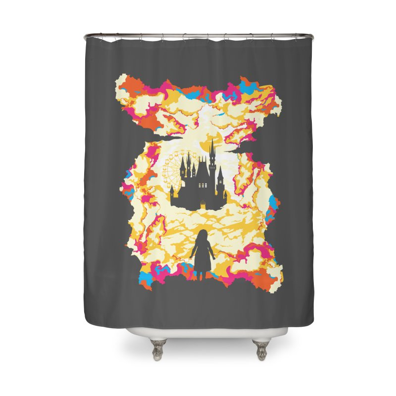 Cloud City Home Shower Curtain by Daletheskater
