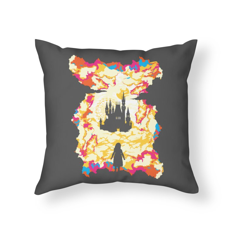 Cloud City Home Throw Pillow by Daletheskater