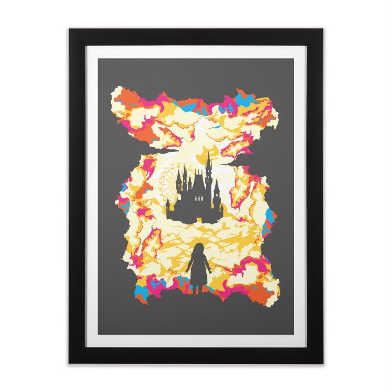 Cloud City Home Framed Fine Art Print by Daletheskater