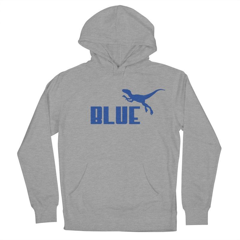 Blue Men's Pullover Hoody by Daletheskater
