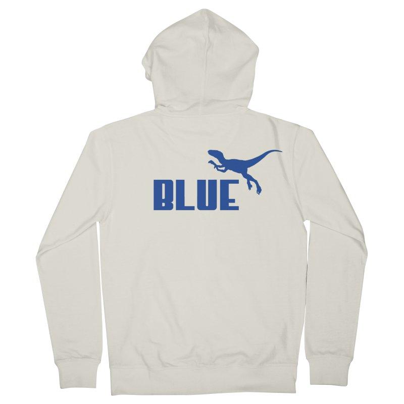 Blue Men's Zip-Up Hoody by Daletheskater