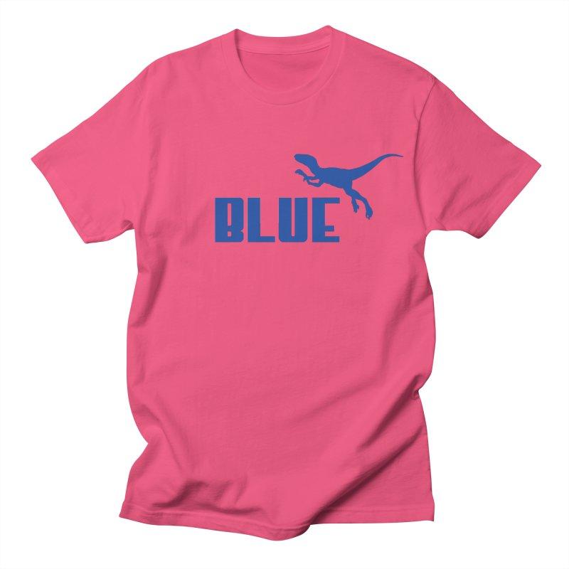 Blue Women's Unisex T-Shirt by Daletheskater
