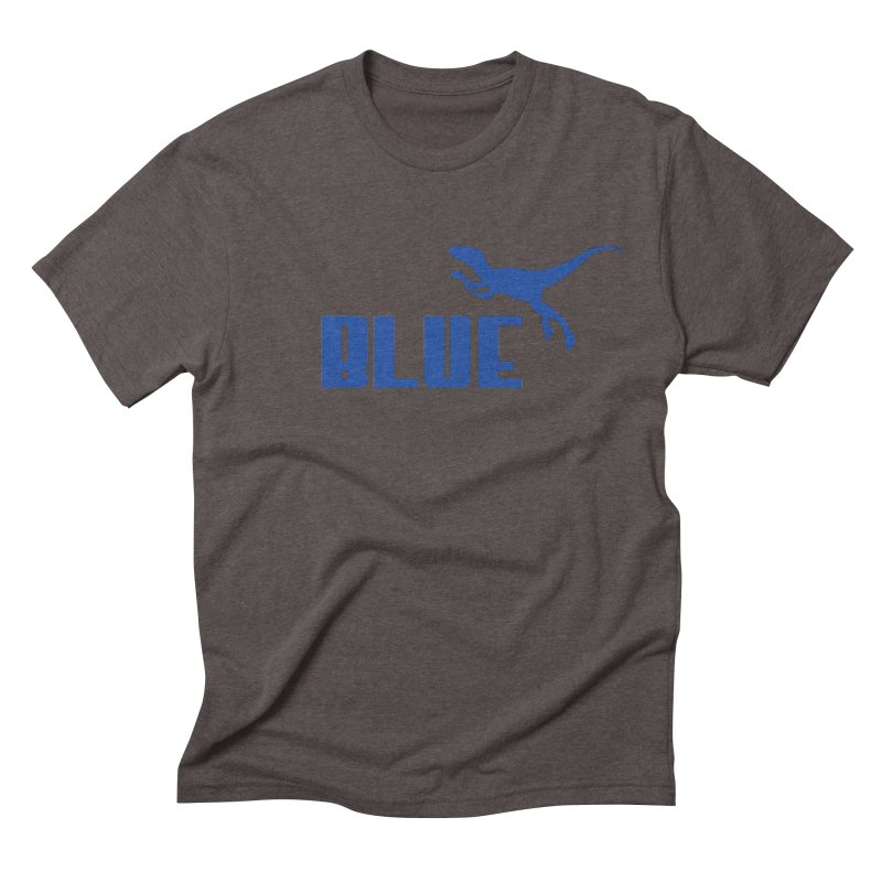 Blue Men's Triblend T-Shirt by Daletheskater