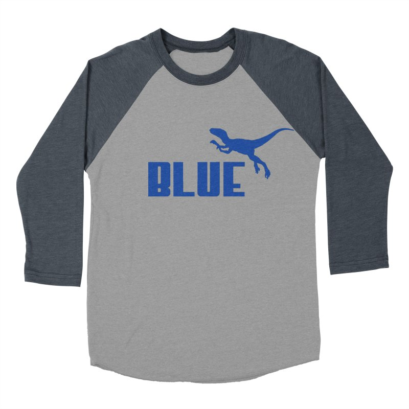 Blue Women's Baseball Triblend T-Shirt by Daletheskater
