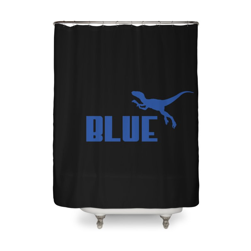 Blue Home Shower Curtain by Daletheskater