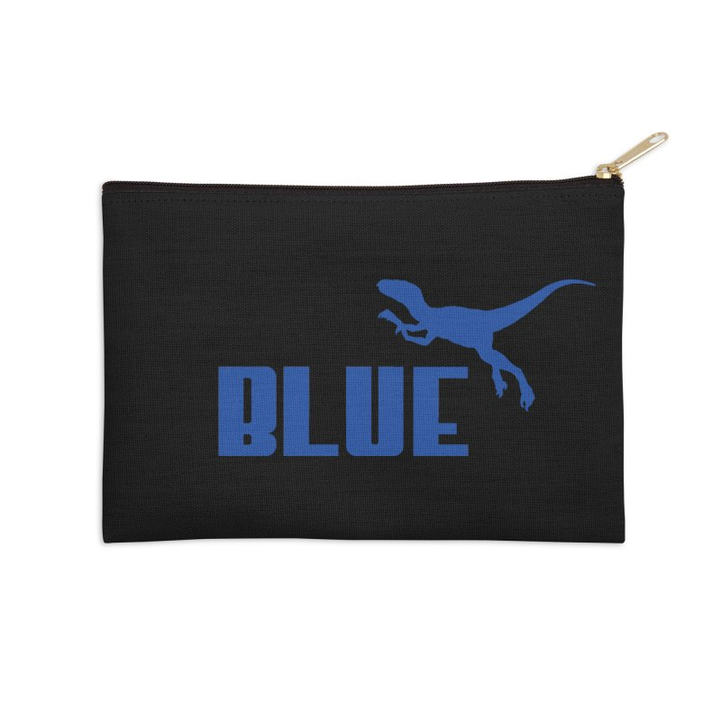 Blue Accessories Zip Pouch by Daletheskater