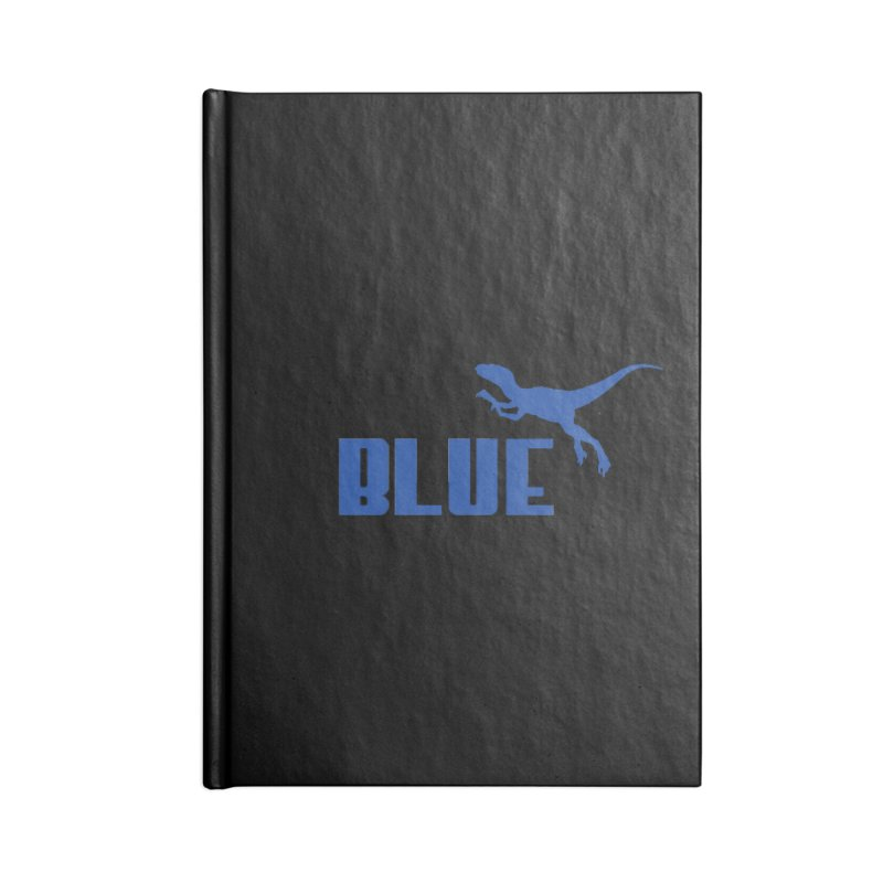 Blue Accessories Notebook by Daletheskater