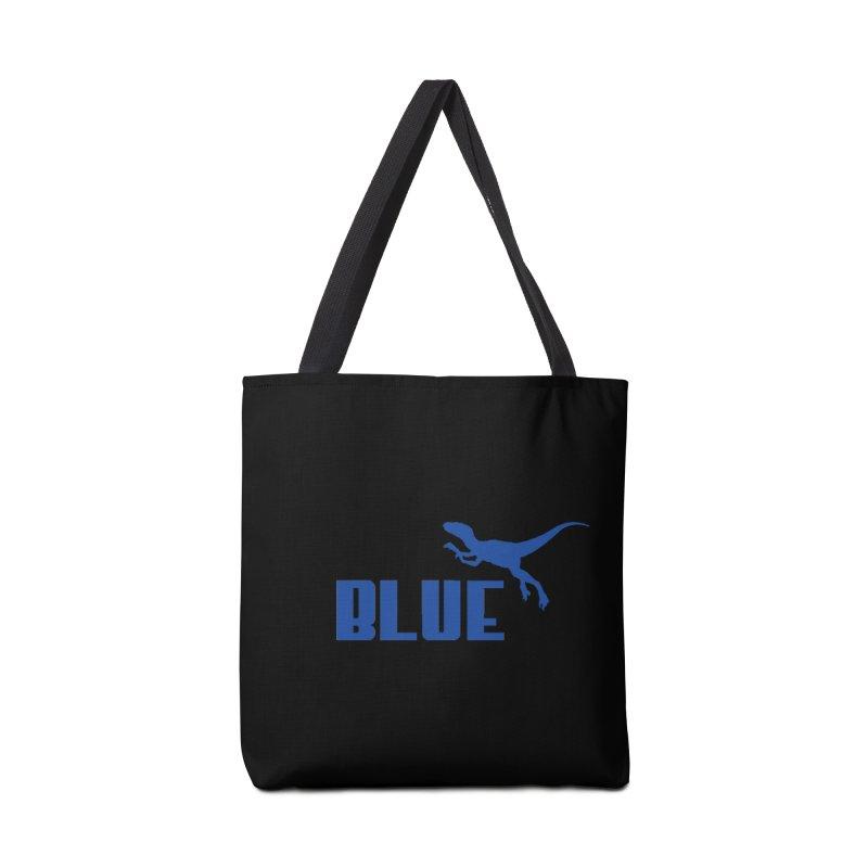 Blue Accessories Bag by Daletheskater