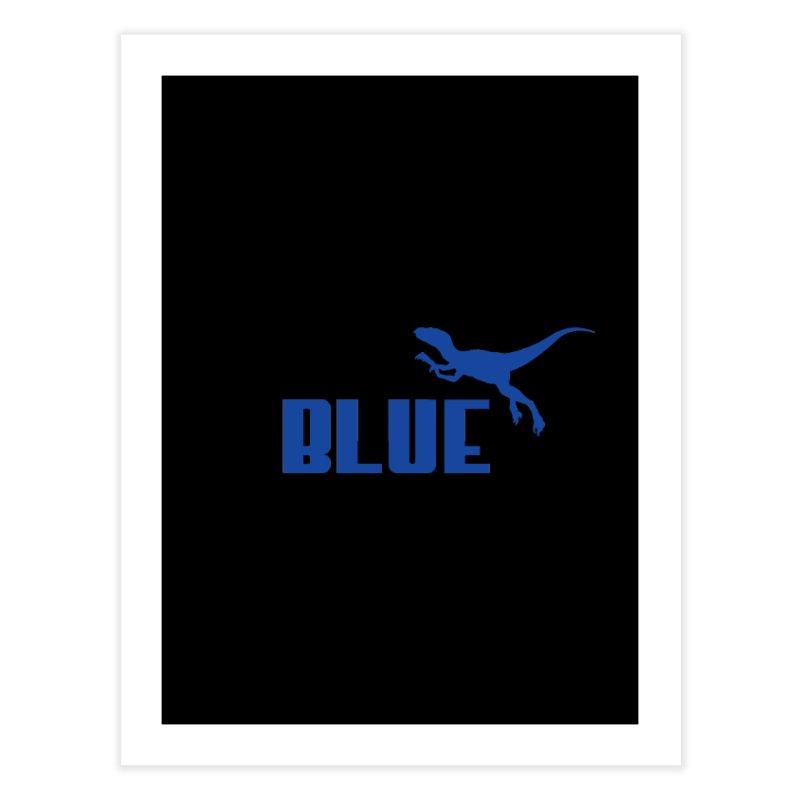Blue Home Fine Art Print by Daletheskater