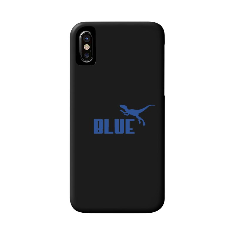 Blue Accessories Phone Case by Daletheskater