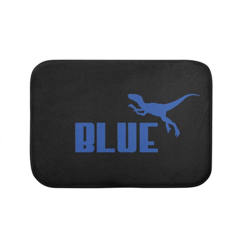 Blue Home Bath Mat by Daletheskater