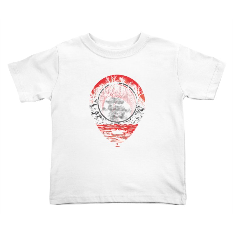 Fear The Clown Kids Toddler T-Shirt by Daletheskater