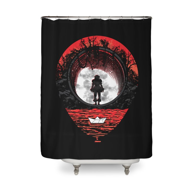 Fear The Clown Home Shower Curtain by Daletheskater