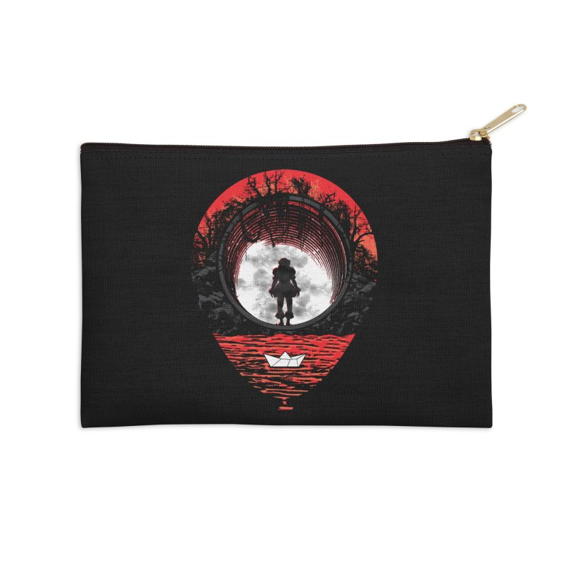 Fear The Clown Accessories Zip Pouch by Daletheskater