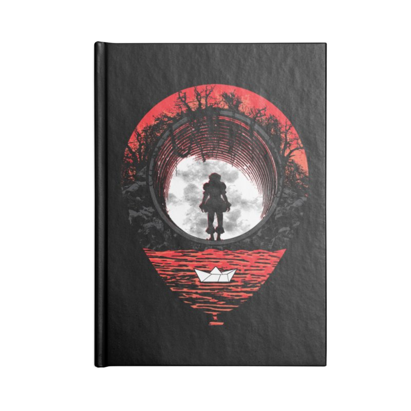 Fear The Clown Accessories Notebook by Daletheskater