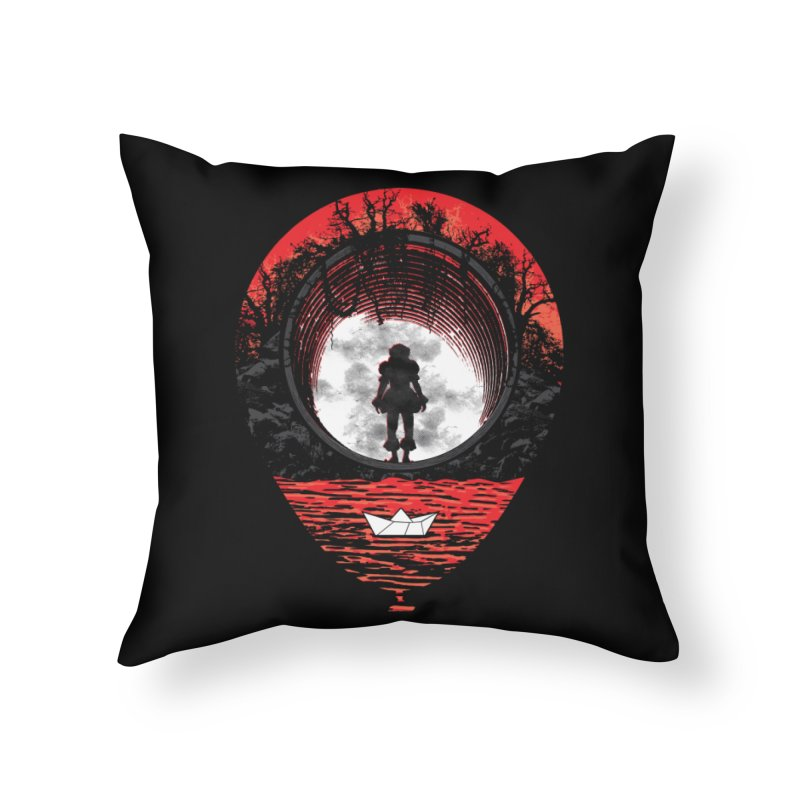 Fear The Clown Home Throw Pillow by Daletheskater