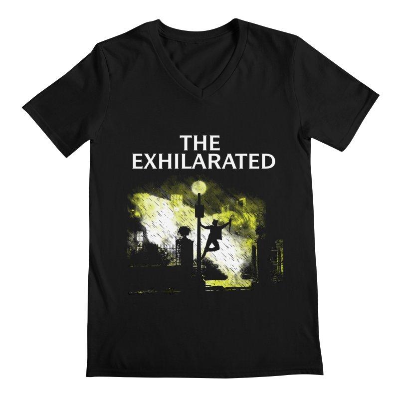 The Exhilarated Men's V-Neck by Daletheskater