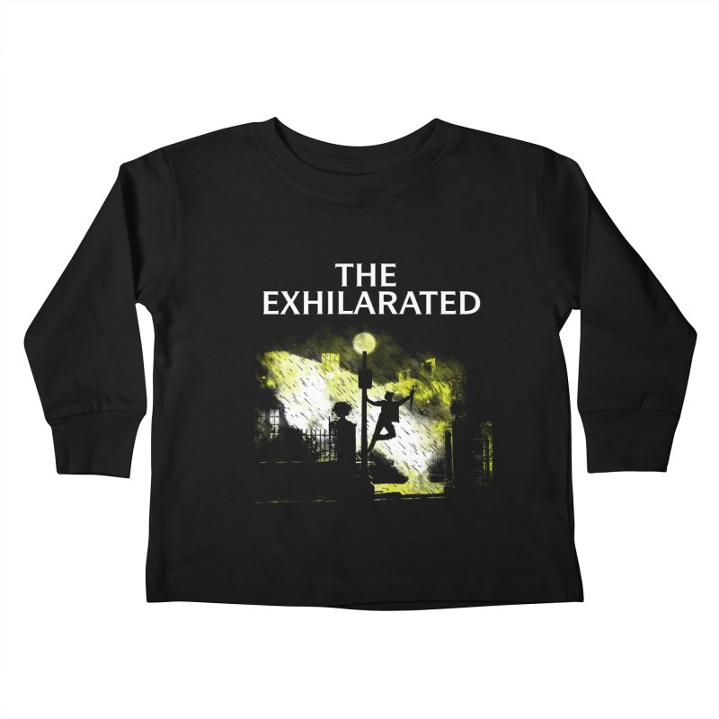 The Exhilarated Kids Toddler Longsleeve T-Shirt by Daletheskater