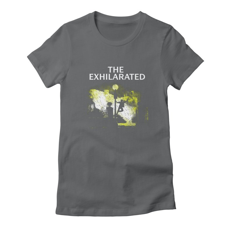 The Exhilarated Women's Fitted T-Shirt by Daletheskater