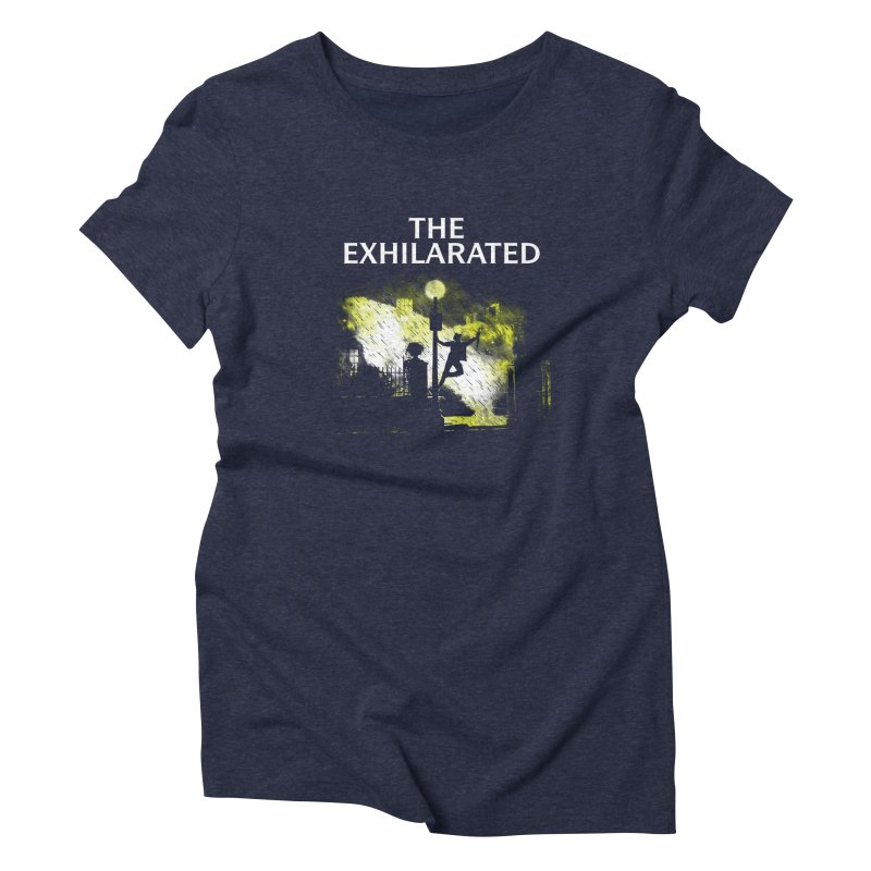 The Exhilarated Women's Triblend T-Shirt by Daletheskater