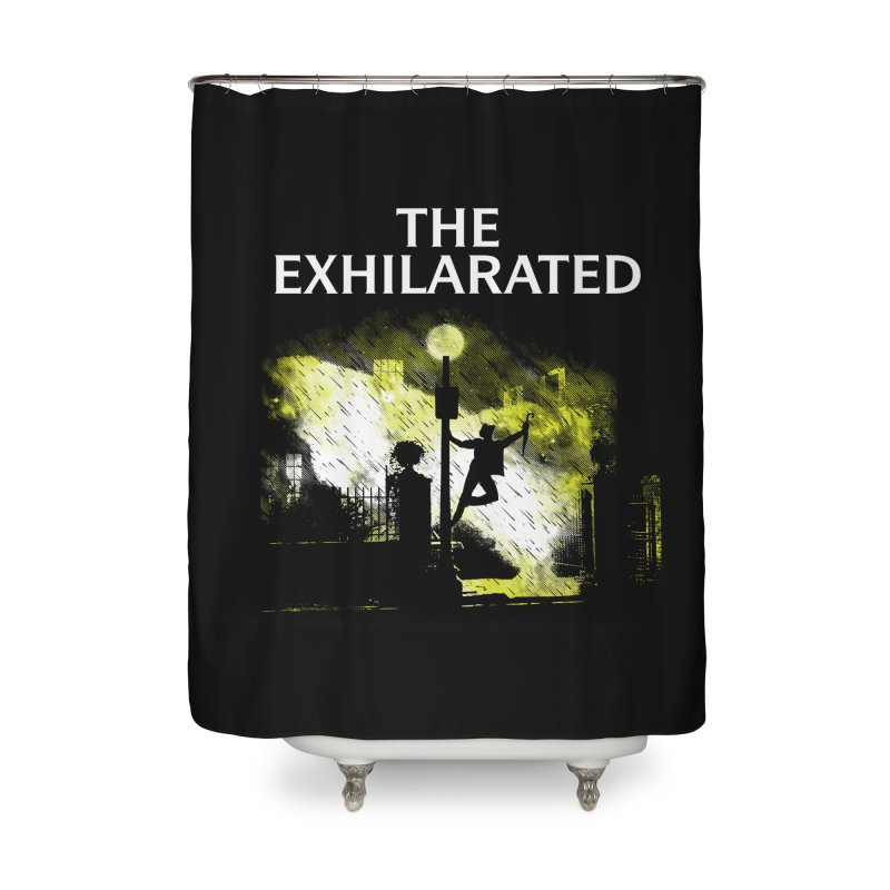 The Exhilarated Home Shower Curtain by Daletheskater