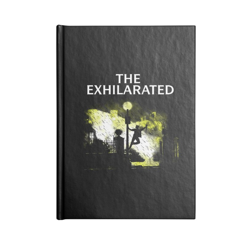 The Exhilarated Accessories Notebook by Daletheskater