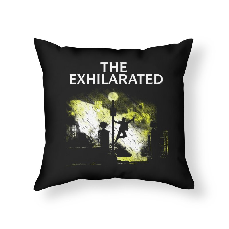 The Exhilarated Home Throw Pillow by Daletheskater