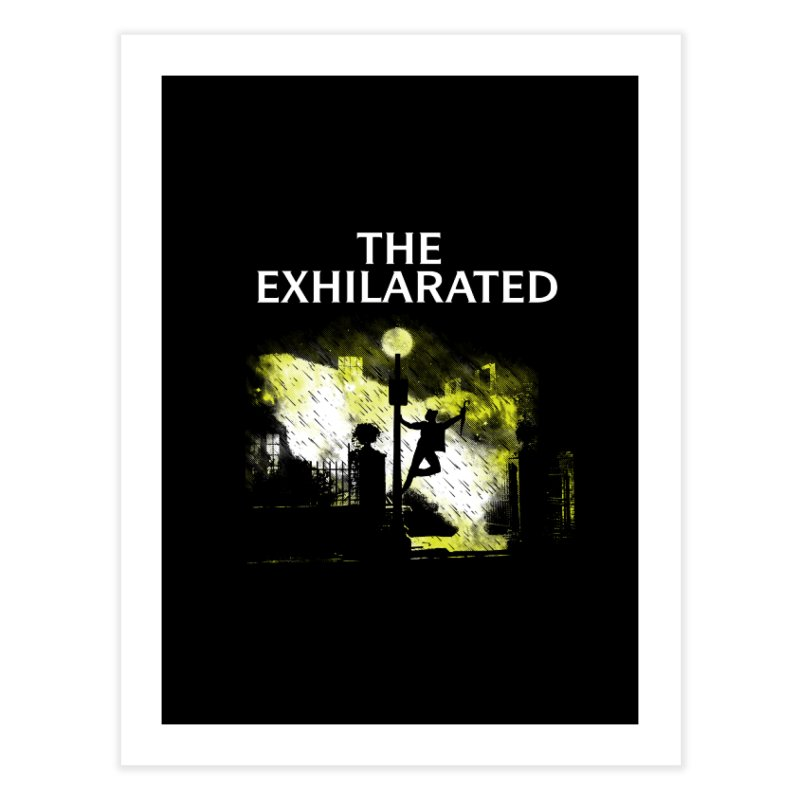 The Exhilarated Home Fine Art Print by Daletheskater