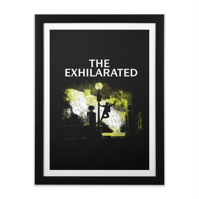 The Exhilarated Home Framed Fine Art Print by Daletheskater