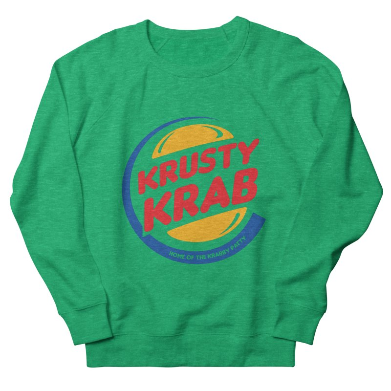 Krusty Krab Men's Sweatshirt by Daletheskater