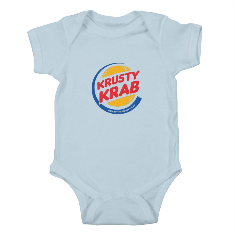 Krusty Krab Kids Baby Bodysuit by Daletheskater