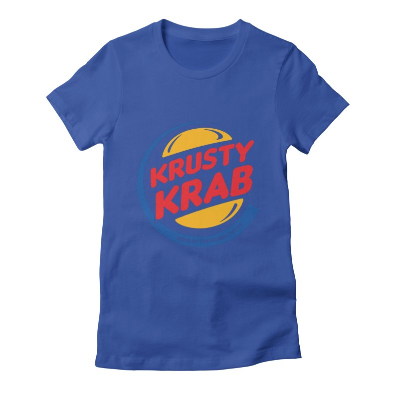 Krusty Krab Women's Fitted T-Shirt by Daletheskater