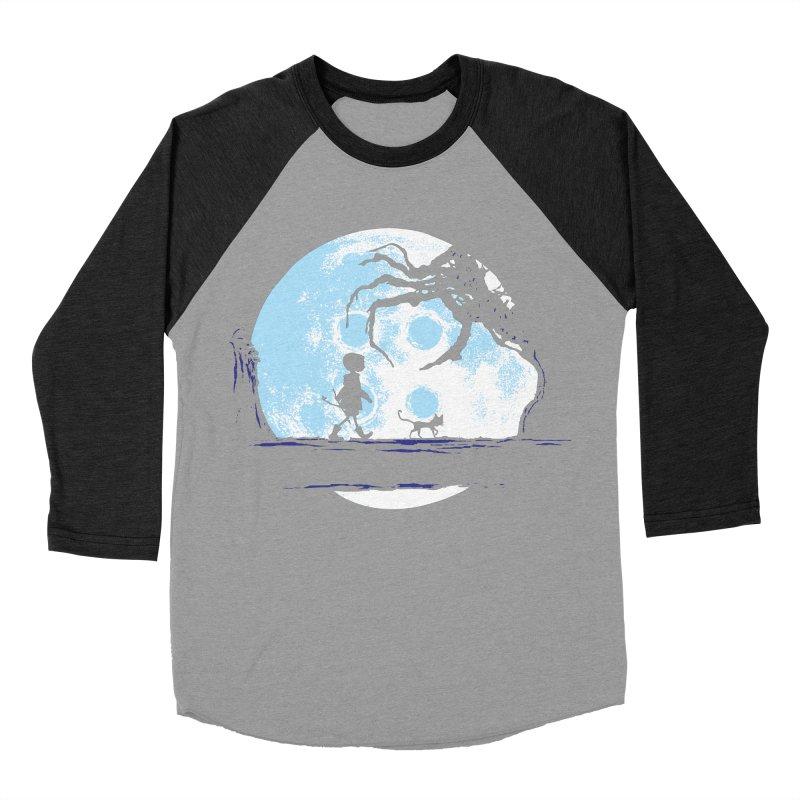Perfect Moonwalk Women's Baseball Triblend T-Shirt by Daletheskater
