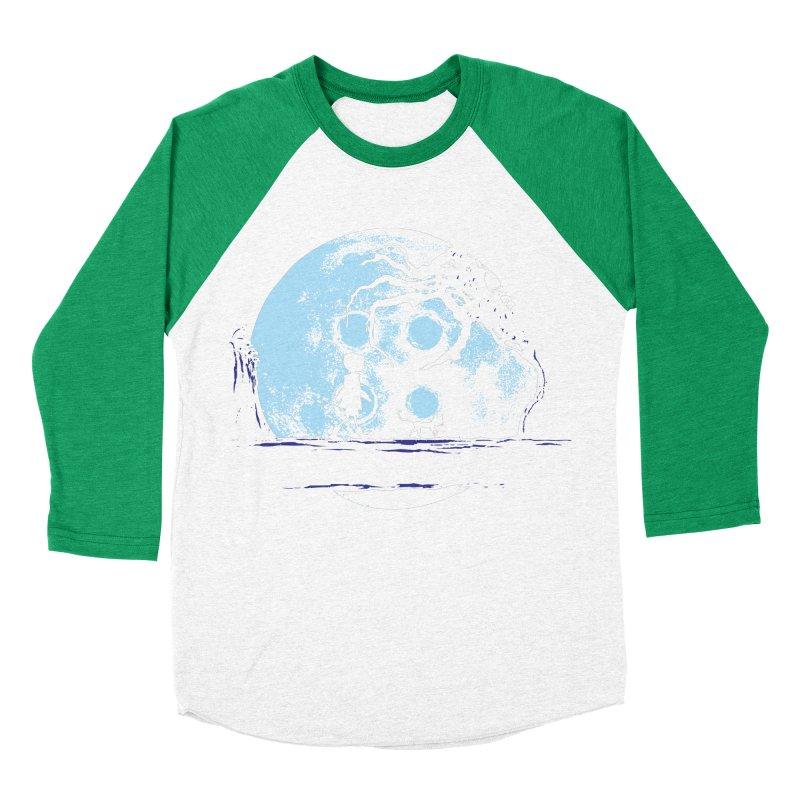 Perfect Moonwalk Men's Baseball Triblend T-Shirt by Daletheskater
