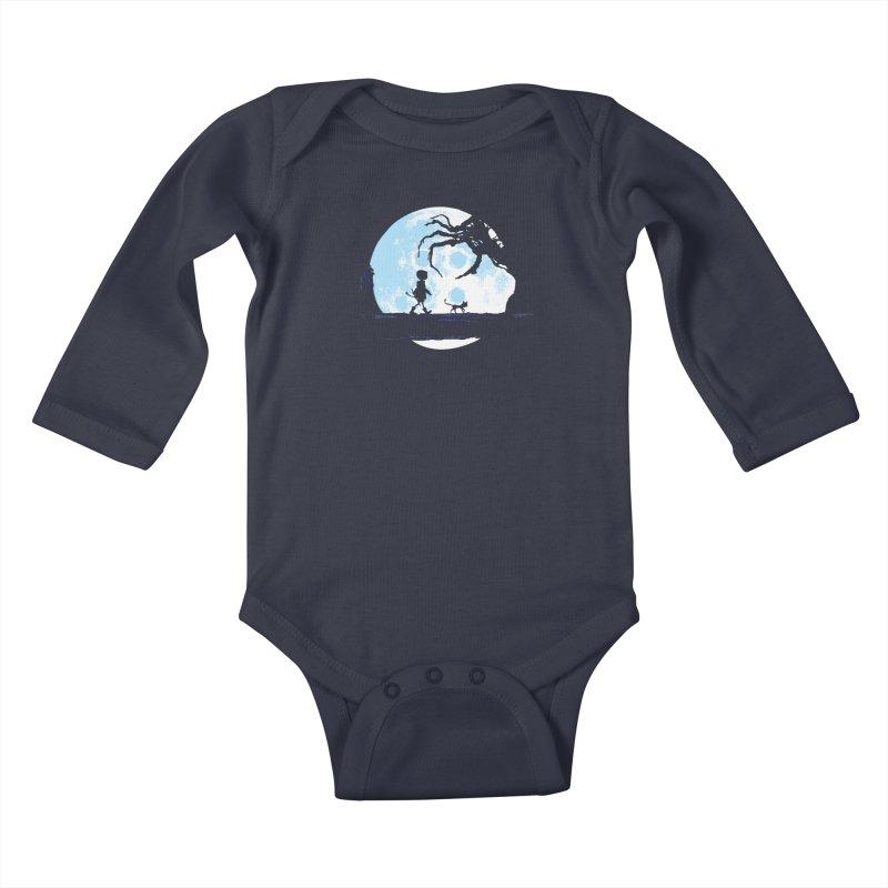 Perfect Moonwalk Kids Baby Longsleeve Bodysuit by Daletheskater