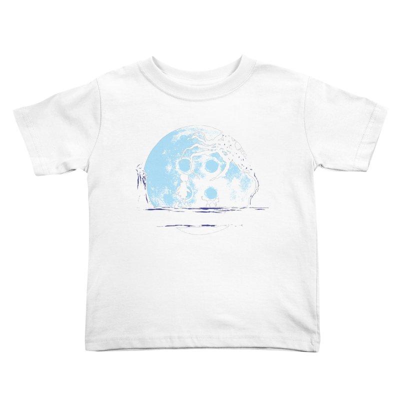 Perfect Moonwalk Kids Toddler T-Shirt by Daletheskater