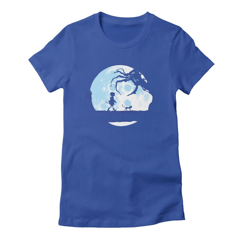 Perfect Moonwalk Women's Fitted T-Shirt by Daletheskater