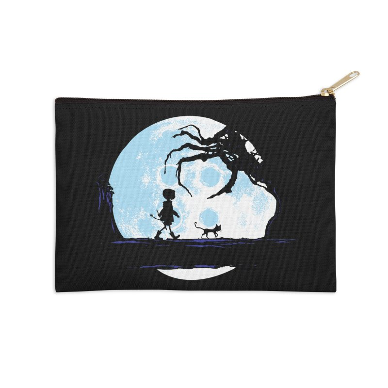 Perfect Moonwalk Accessories Zip Pouch by Daletheskater
