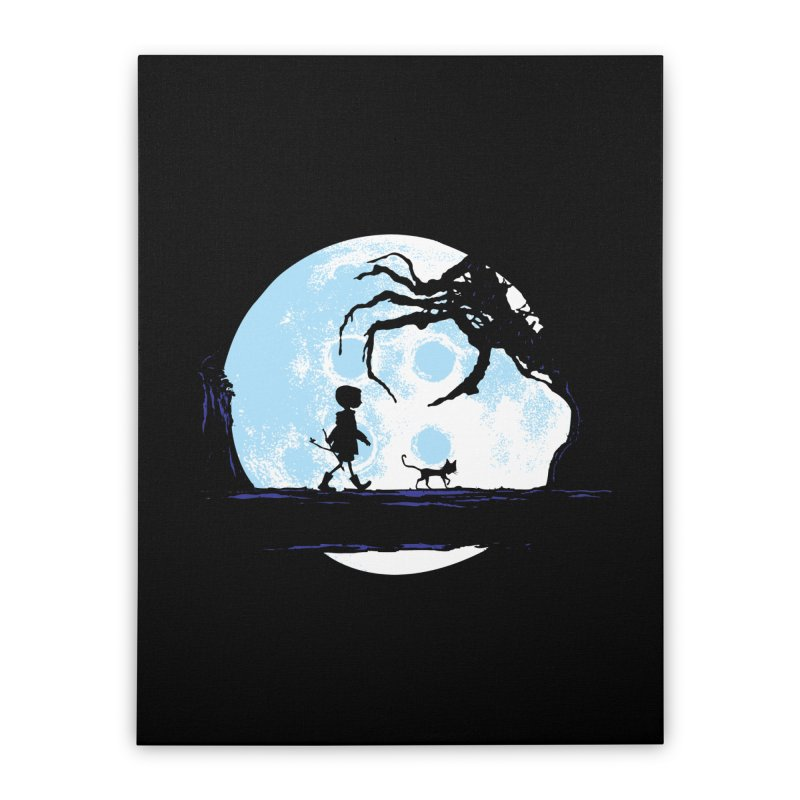 Perfect Moonwalk Home Stretched Canvas by Daletheskater