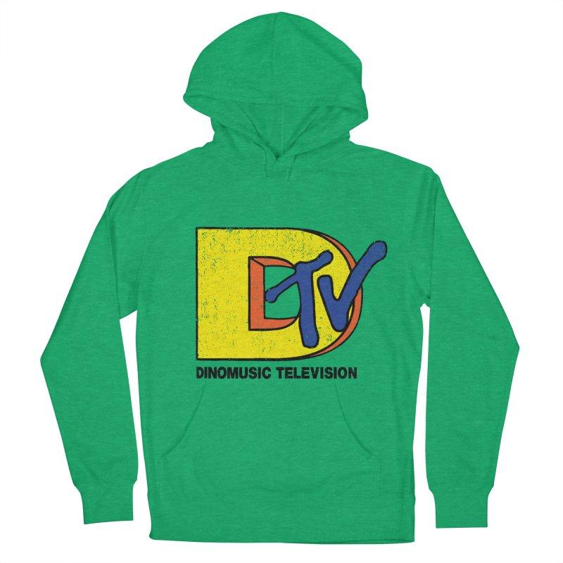 Dinomusic Television Men's Pullover Hoody by Daletheskater